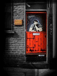 irish street art doors