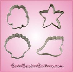 When you pick up an ordinary shell, you hear the ocean. When you pick up one of the shells in the Shell Cookie Cutter Set, you'll hear great cookies calling you