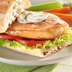 Kip Broodje  Chicken Sandwich: perfect for lunch or dinner.