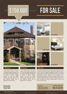 Real estate flyer ideas mortgage flyers software for Real estate design software