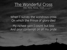 Michael W. Smith wonderful cross-lyrics