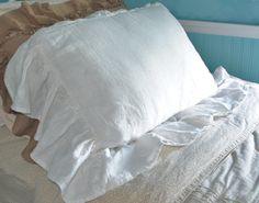 lightweight linen pillow