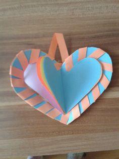 Srdce na valentýn (Dá se do toho i psát přání)