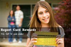 Report Card Rewards: Free Stuff for Good Grades!