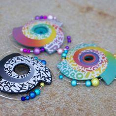 Polymer clay pin | Nemravka