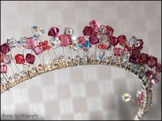 Wedding Tiara Made using Swarovski crystals