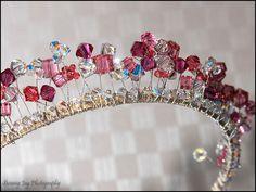 Wedding Tiara Made using Swarovski crystals