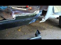 PART 4 73-87 C10 RUST REPAIR | Welding Chevy Patch Panels - YouTube