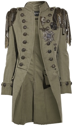 balmain-green-embellished-cotton-canvas-napoleon-coat-