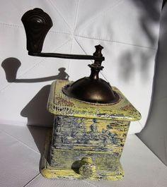 Vintage/ Antique Grinder/ Coffee mill/ by HomeDecorArt...