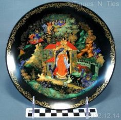 Bradford Exchange Russian Legends Princess Seven Gogatyrs Collector Plate 2 FF | eBay