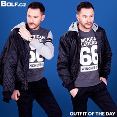 Outfit Of The Day, Bomber Jacket, T Shirt, Jackets, Outfits, Fashion, Down Jackets, Clothes, Moda