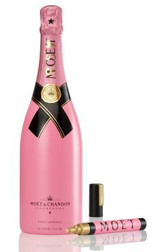 This comes with a gold pen to write on the bottle after the Bachelorette Party!
