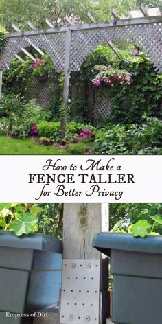I Need To Find A Way To Make My Chain Link Fence More