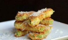 Baked Avacado Fries. These were yummy and super crispy. We used homemade buttermilk ranch for dip.