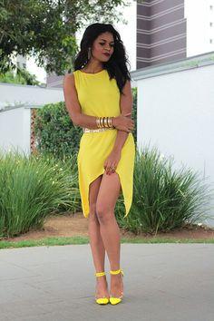YELLOW DRESS/ Vestido Amarelo