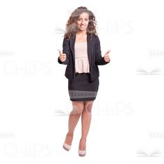 Young confident business lady approving something cutout Business Lady, Business Women, Confident, Dresses For Work, Templates, People, Design, Fashion, Role Models