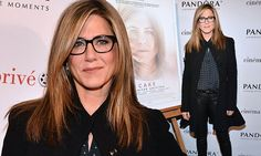 Jennifer Aniston steps out in dark-rimmed specs for screening of Cake