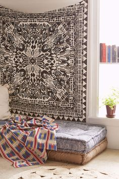 Magical Thinking Tate Stamp Tapestry - Urban Outfitters