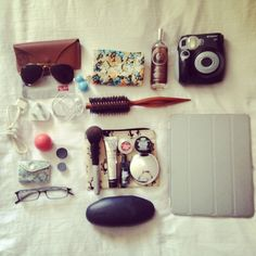What's in my bag; bag organization