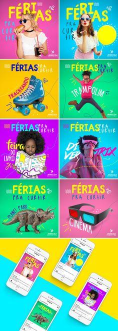 Férias pra curtir #Design #GraphicDesign #DesignInspo #SocialMedia #Color
