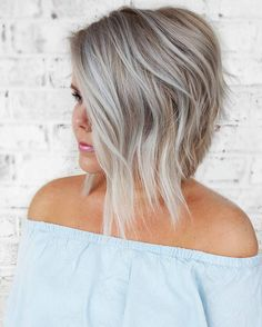Amazing silver by @mikaatbhc, featuring Simply Blonde products! Visit the link in our profile to learn about our Simply Blonde contest. (1) Heavy foil 30V + #SimplyBlonde Lightener + low of #kenracolor Demi 9PV (2) Toned with Sheer Tone Ice & Pearl equal parts. Rapid Toner VP on roots (3 minutes). #kenraprofessional  #theartofblonding