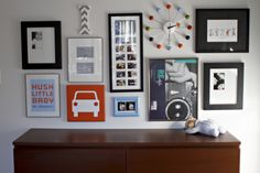 Cool wall collage