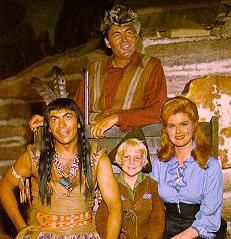 DANIEL BOONE.....    .... Ed Ames who played Mingo had a very good voice... He sang with his brothers, I think in the 50s, maybe 60s.