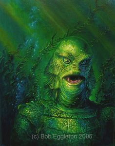Creature From the Black Lagoon by Bob Eggleton