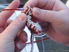 Double Knitting Motifs Tutorial Part 3.wmv - YouTube