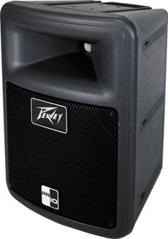 """Peavey 10 Inch 2-Way Speaker Enclosure by Peavey. $159.95. Two-way sound reinforcement enclosure - 400 Watts program, 800 watts peak - Frequency Range: 54 Hz to 21 kHz - One 10"""" woofer with 2.375"""" VC and lightweight neodymium magnet - RX14(tm) compression driver with 1.4 inch titanium diaphragm 1 inch exit - 90 x 40 constant directivity horn - Tweeter protection - Heavy-duty crossover - Lightweight molded polypropylene enclosure - Molded-in pole mount system - Hea..."""