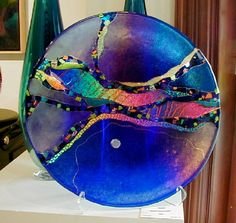 : Chihuly at Las Vegas Stained Glass Projects, Stained Glass Patterns, Glass Ceramic, Mosaic Glass, Fused Glass Bowl, Kiln Formed Glass, Glass Jewelry, Moonlight Sonata, Las Vegas