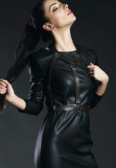 0dccf31802 78 Best leather outfit images in 2019