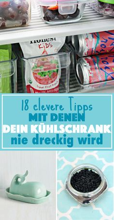 18 simple tricks on how your fridge never gets dirty - Home Cleaning Hacks Fridge Organization, Home Organisation, Organization Hacks, Household Organization, Diy Cleaning Products, Cleaning Solutions, Cleaning Hacks, Storage Solutions, Storage Ideas