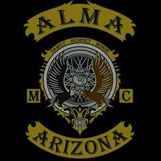 ALMA MC Biker Clubs, Motorcycle Clubs, Biker Gangs, Gang Members, Biker Patches, Nightmare Before Christmas, Porsche Logo, Biking, Detroit