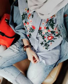 71 Likes, 2 Comments - عائشة Muslim Fashion, Modest Fashion, Love Fashion, Fashion Outfits, Streetwear, Modele Hijab, Hijab Fashion Inspiration, Hijab Chic, Hijabi Girl