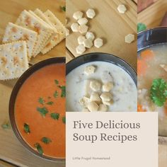 Five Delicious Soup Recipes - Little Frugal Homestead