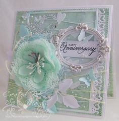 Anniversary Wishes by Mandy Stacey - Cards and Paper Crafts at Splitcoaststampers