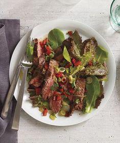 Paleo Steak Salad