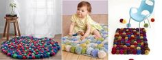 Add Personality to Any Space With 10 DIY Rug Projects – Sunlit Spaces Arts And Crafts Projects, Diy Projects To Try, Crafts To Do, Crafts For Kids, Pom Poms, Pom Pom Rug, Diys, So Creative, Creative Things