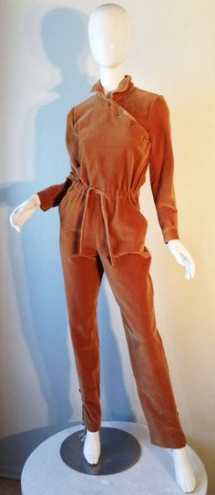 Courreges Jumpsuit 1970s | From a collection of rare vintage pants at http://www.1stdibs.com/fashion/clothing/pants/
