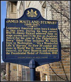 Tribute to Jimmy Stewart, Indiana, PA