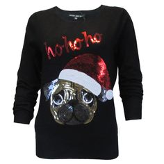 Image result for christmas sweater with pug