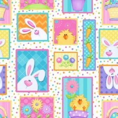 6679-21 , Hippity Hop by Shelly Comiskey of Simply Shelly Designs, Henry Glass & Co., Inc.