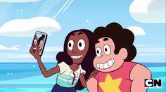 Steven and Connie. Steven universe
