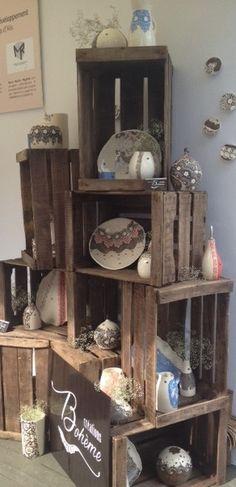 Retour photos de mes clients - Créations Bohème Poterie & Décoration fait main. Contact vente de caisses : lartdelacaisse@gmail.com