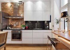 В большинстве квартир стран СНГ не теряет своей актуальности проблема малогабаритности кухонной зоны. Чтобы небольшая кухня стала удобной, необходимо всего лишь грамотно ее оформить. Сегодня мы вам