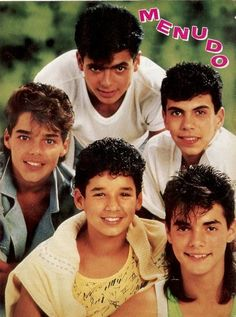 Menudo. OMG! I'm 12 years old all over again.  If you're not here, by my side...