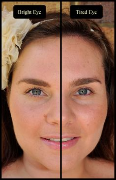 How to brighten eyes (subtle and quick) -- for tired eyes