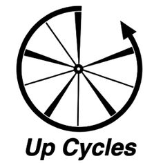 up cycles new logo. Cycling News, Things To Do, Bicycle, Tours, Peace, City, Things To Make, Bike, Bicycle Kick